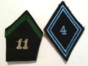 Lot-col-du-11e-GRDI-1939-et-Losange-1945-4e-Transmissions