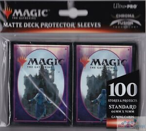 Throne-of-Eldraine-Card-Back-100-ULTRA-PRO-deck-protectors-card-sleeves-FOR-MTG