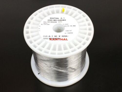 32,300 ft Resistance Wire AWG A-1 ga Kanthal A1 32 Gauge 4.99 lb