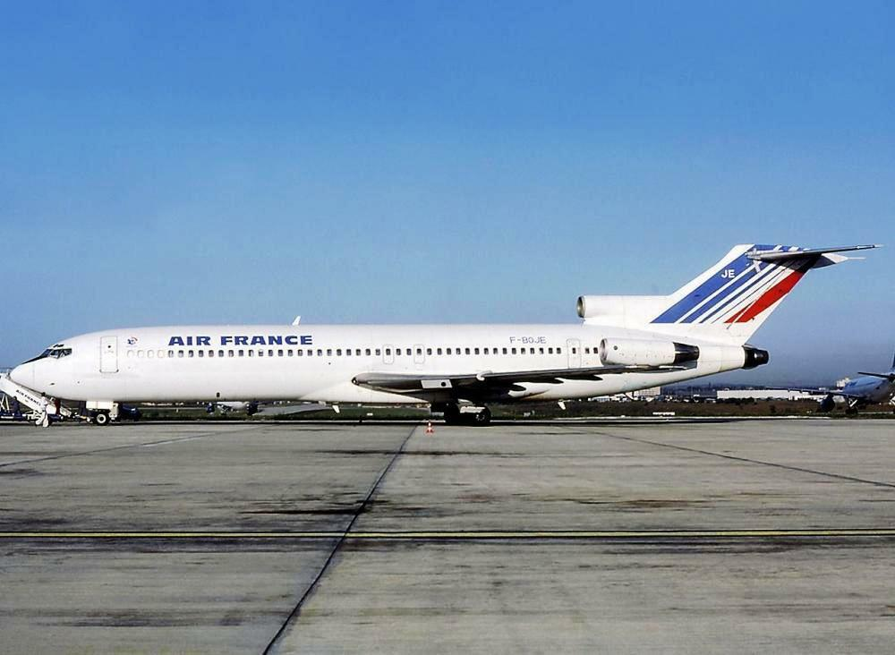 JC Wings JC2054 1 200 AIR FRANCE BOEING 727-200 F-Boje avec support