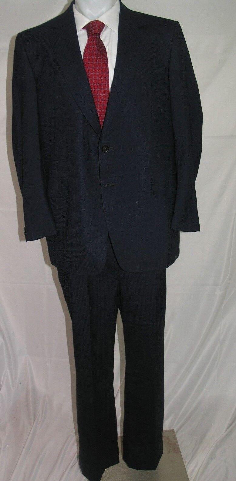 Martin Grünfield Vintage Two Button Flat Front Suit 46 R 37 x 29