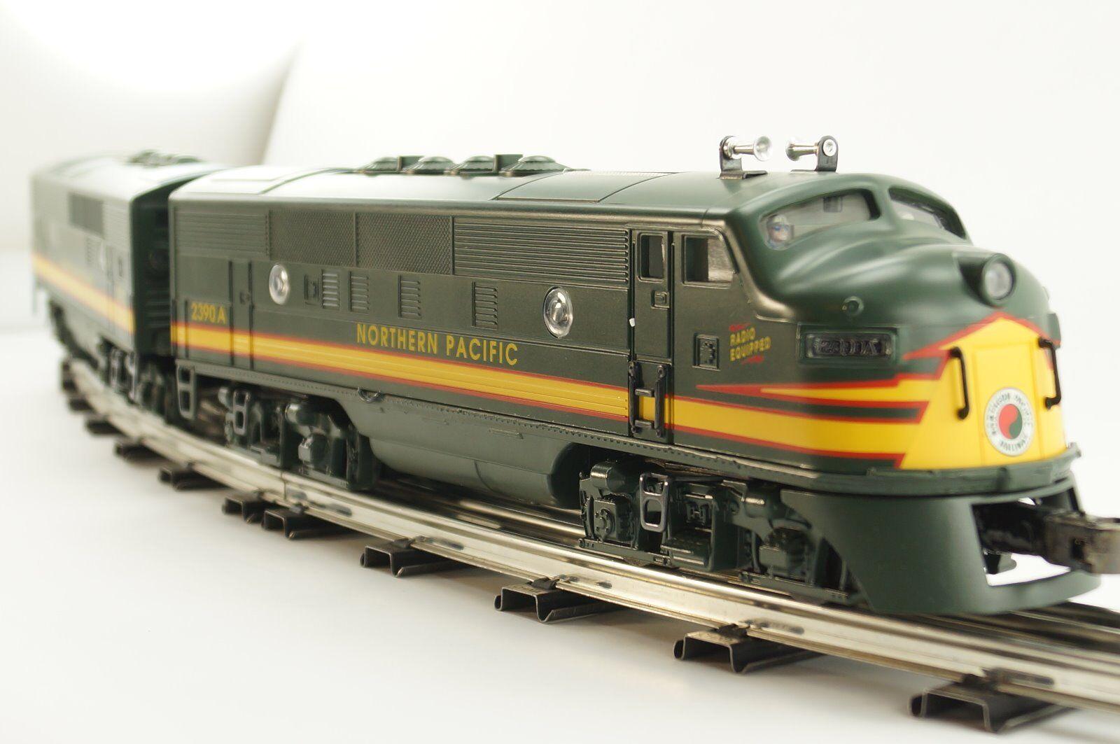 Lionel Northern Pacific F3A F3A F3A &F3B Diesel Locomotives 6-18132 & 6-18133 f72888