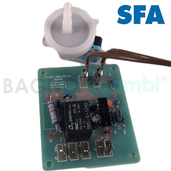 Ricambio carta scheda elettronica  con pressostato watergenie sanitrit ELE052