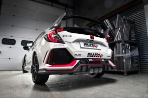 Image Is Loading SSXHO242 MILLTEK EXHAUST FOR Honda Civic Type R