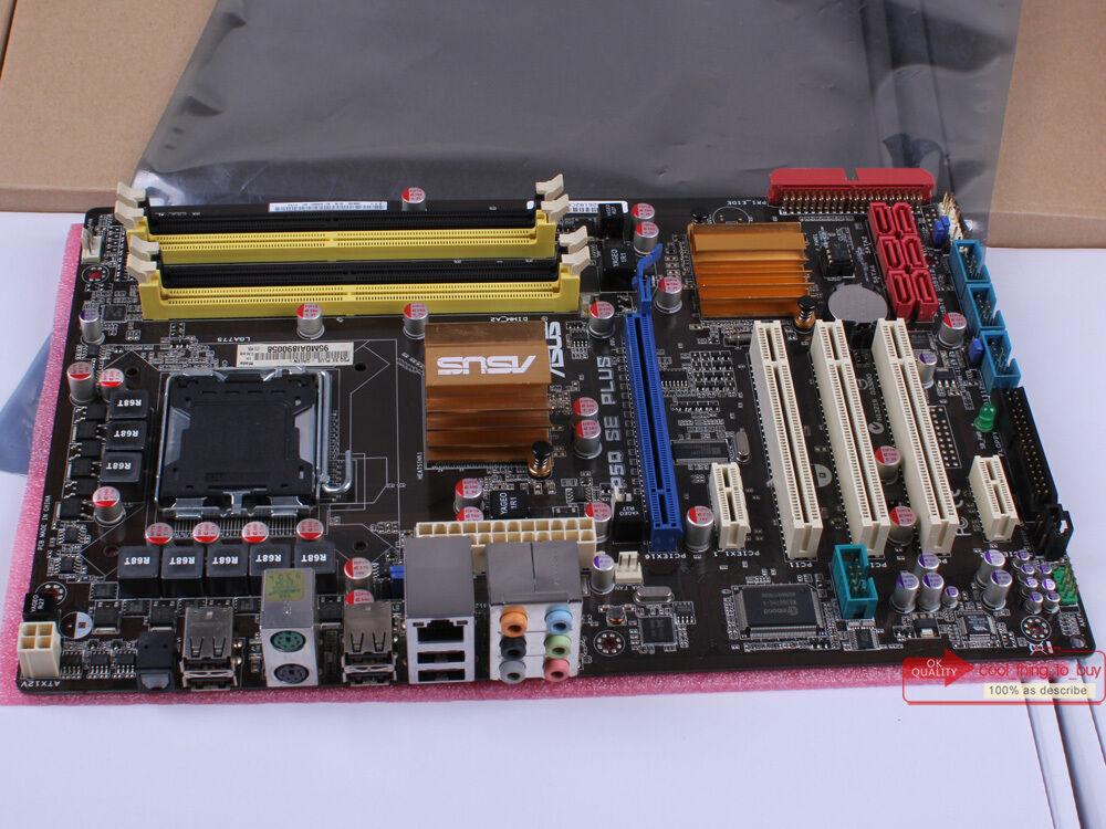 ASUSTeK COMPUTER P5Q SE PLUS, LGA775 Socket, Intel Motherboard