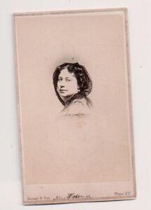 Vintage-CDV-Mrs-Malvina-Florence-Actress-dancer-theater-manager-Gurney-Photo