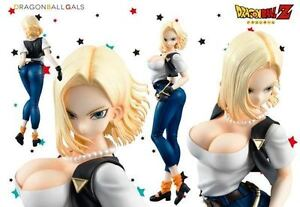 MEGAHOUSE-DRAGON-BALL-DRAGONBALL-Z-GALS-ANDROID-NO-18-VER-II-2-FIGURE