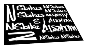 New custom Surly frame stickers decals mtb bike
