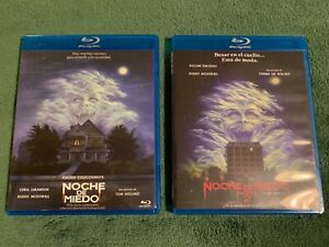 Fright-Night-1985-und-Fright-Night-2-1988-Blu-Ray-UNCUT-Spanien-Import