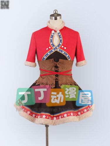 Love Live Tojo Nozomi Hoshizora Rin Sonoda Umi Snow Mountain Cosplay Costume