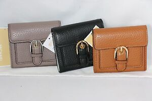 2c06113c9dacb Michael Kors Cooper MD Leather Carryall Card Holder Wallet - Lugg ...