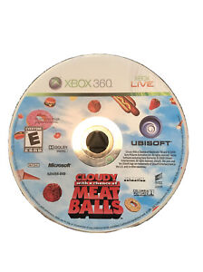 Cloudy With a Chance of Meatballs Xbox 360 Kids Game Disc Very Rare! 1