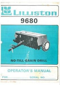 lilliston no till grain drill model 9680 operators manual ebay rh ebay com