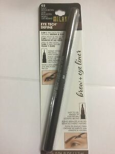MILANI-Eye-Tech-Define-2-In-1-Brow-Eyeliner-Felt-Tip-Pen-Black-Medium-Brown