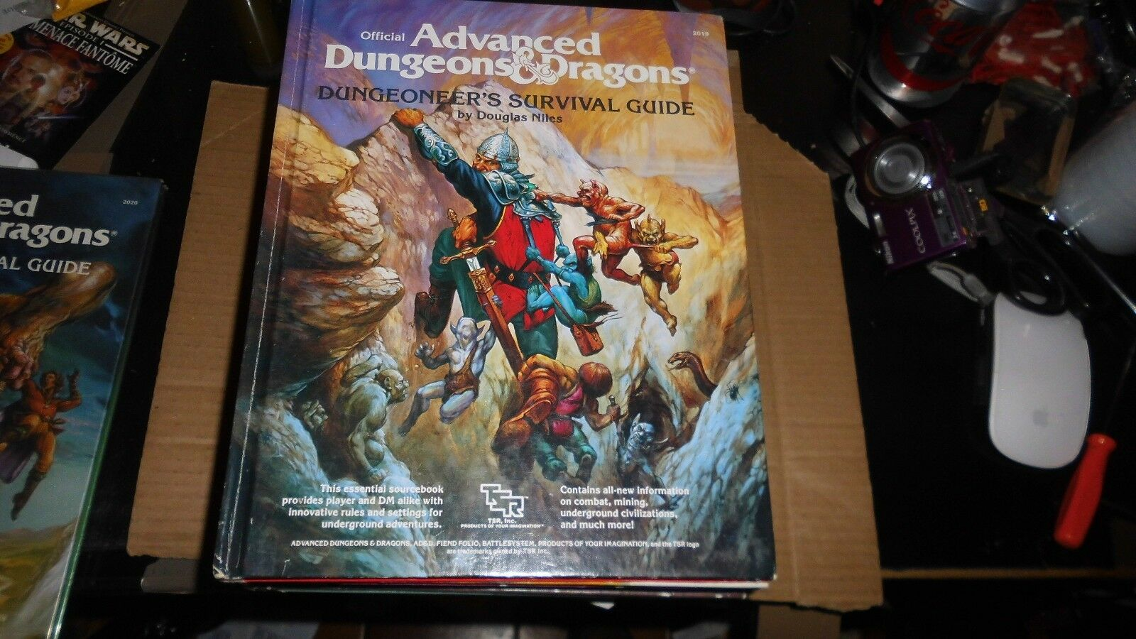 ADVANCED DUNGEONS & DRAGONS - DUNGEONEER'S SURVIVAL GUIDE