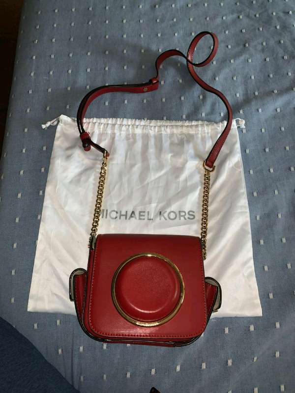 Michael's camera bag