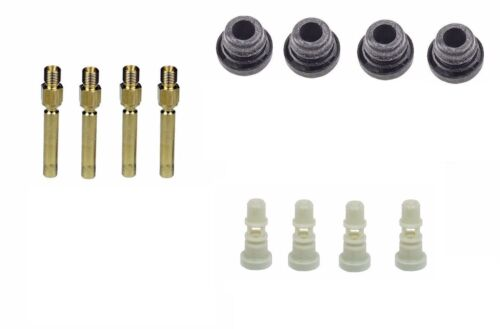 12 pcs For Mercedes R107 R129 W124 Bosch Fuel Injector /& Seal /& Holder