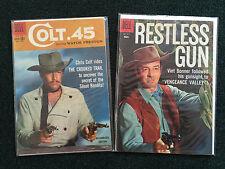 Lot of 2 Western Gun Fighter Comics - Colt.45 #1004 & Restless Gun # 934 VF/NM