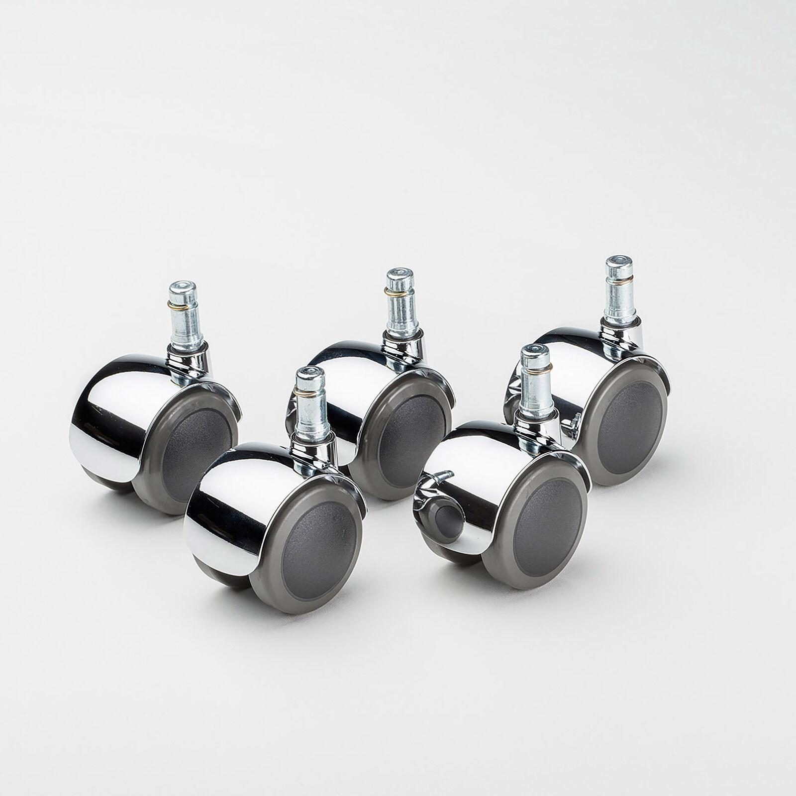 s l1600 - Vitra Set Rueda Giratoria para Eames-Produktreihe,Blanda Banda de Rodadura,5