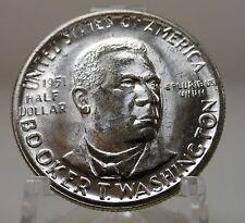 original roll of 20 BU 1951 Booker T Washington commemorative silver half dollar