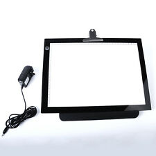 "Artist Stencil Board 14"" LED Drawing Tracing Table Display Light Box Tattoo Pad"