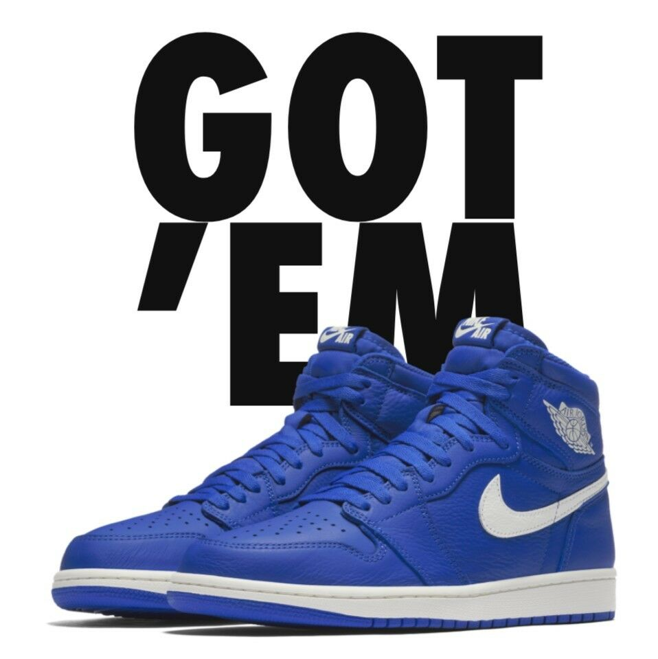 Nike Air Jordan Retro 1 Royal Blue Comfortable Great discount