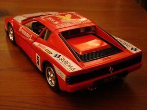 1/18 Ferrari Testarossa Flat 12 Coupe Brummel Friulvini Sarema 1984 Racer Rare
