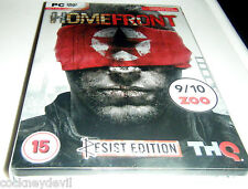 Homefront STEELBOOK resistir edición devilishlygood Rápido UK Post Sellado