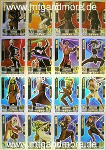 Topps Star Wars Movie sticker 2012 Force coronó 15 sticker escoger
