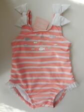 ADORABLE GYMBOREE BABY GIRL ONE PCE BATHERS SWIMSUIT SIZE 000 FITS 0-3M *NEW