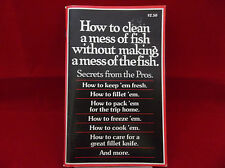 How To Clean A Mess Of Fish Without Making A Mess Of The Fish Normark 1978 1st