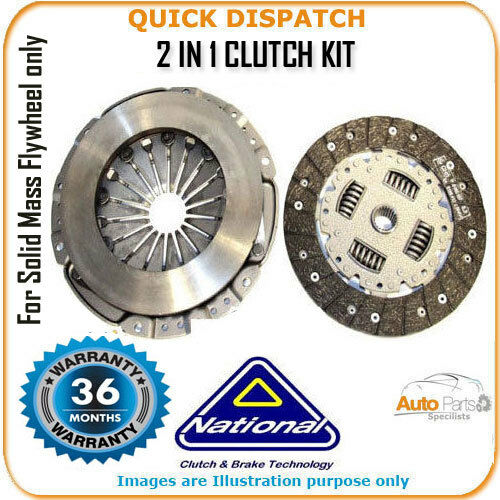 2 In 1 Clutch Kit For Vauxhall Astra Ck10093s