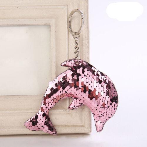 Charm Cat Alpaca Tree Ice Cream Dolphin Keyring Keychain Key Chain Pendant Gift
