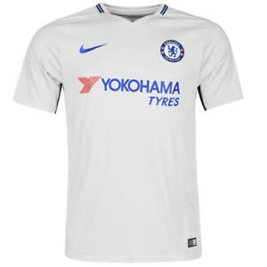 check out 738f0 35e38 Details about Nike Chelsea Away Shirt 2017 2018 junior size 13-15
