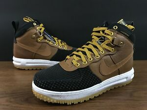 finest selection 776bb 864d5 Image is loading Nike-Lunar-Air-Force-1-One-Duckboot-Tan-