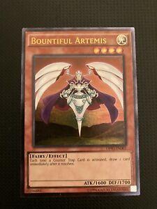 Bountiful Artemis OP01-EN001 YuGiOh NM Ultimate Rare