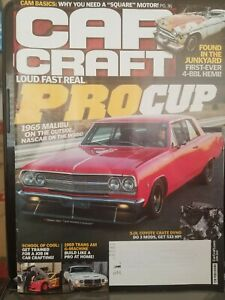 Details about Car Craft June 2019, LOUD FAST REAL PRO CUP, 1965 MALIBU