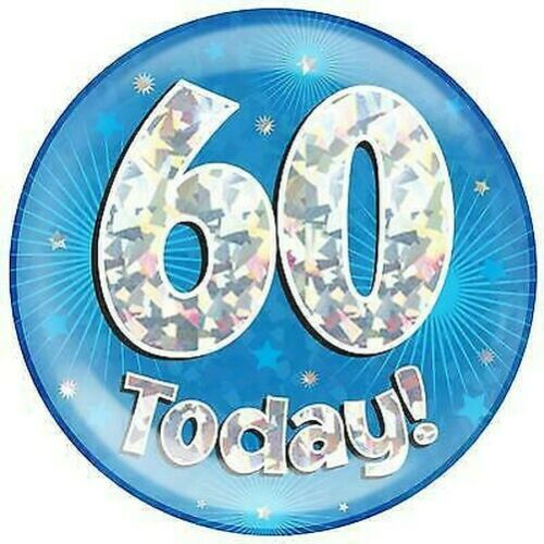 Age 60-Happy 60th Birthday Decorations Party Oaktree Banner /& Flags