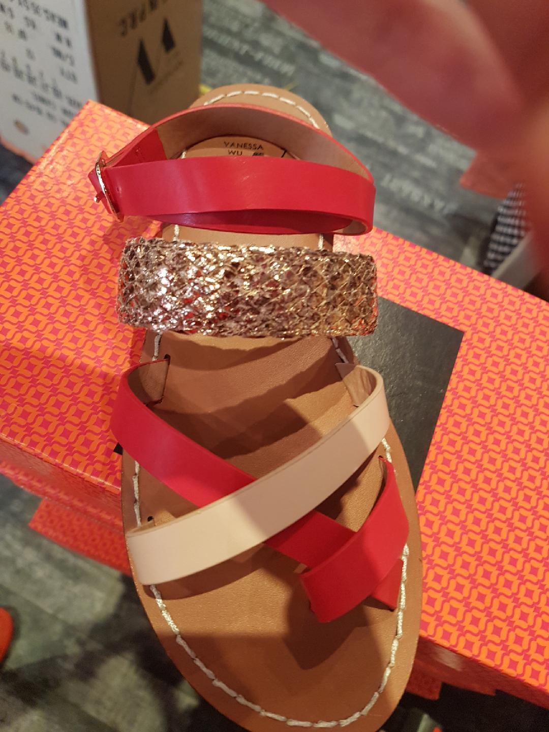 Vanessa wu summer 2017  flat strappy sandals new and labelled value