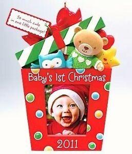 image is loading hallmark 2011 baby 039 s first boy girl