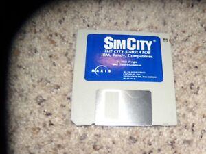 Sim-City-The-City-Simulator-Game-IBM-Tandy-3-5-034-disk
