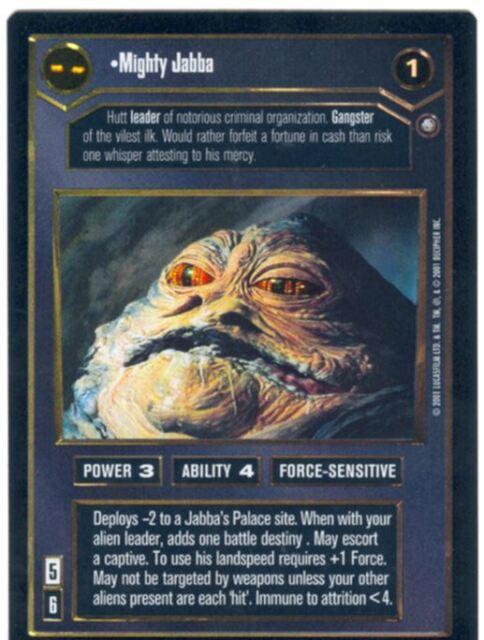 Star Wars CCG Reflections 3 III Foil Aurra Sing