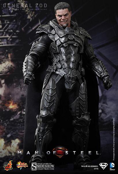 Hot Toys DC Comics Superman Man of Steel General Zod 12  figura 1 6 escala MMS216