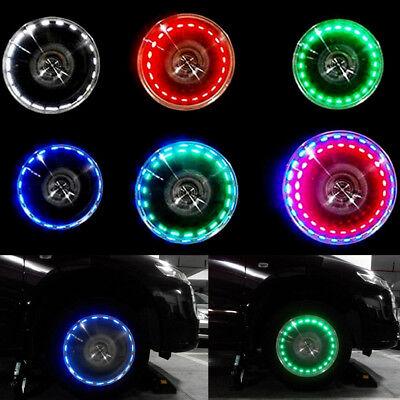 Car Vehicle Wheel LED Light Valve Lamp SUV Decoration Colorful Flashing LED Bulb