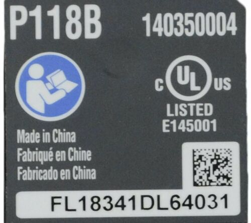 RYOBI P118B 18V ONE 18 Volt Genuine Li-Ion BATTERY CHARGER *BRAND NEW*