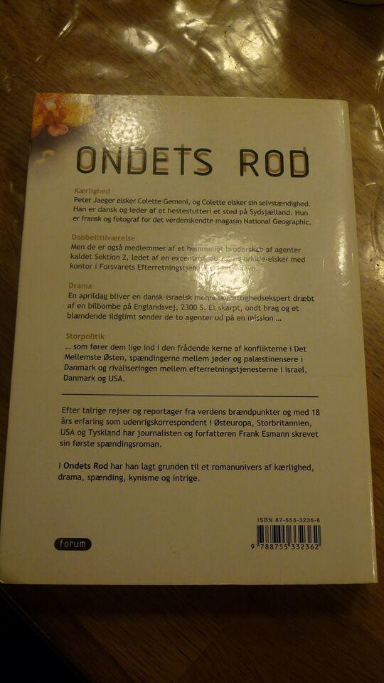 Ondets Rod, Frank Lesmann, genre: roman