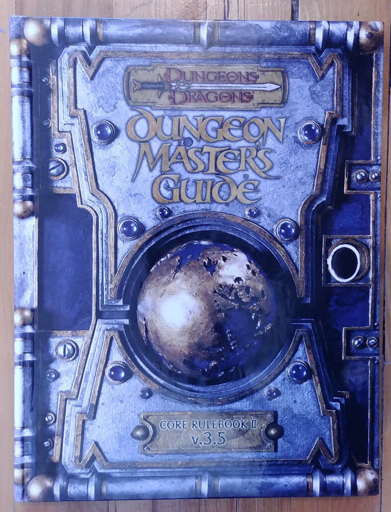Brand new  D&D 3.5 Dungeon Master's Guide (2003, first print) (collectible NM)