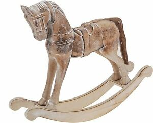 Details About Victorian Style Wooden Rocking Horse 36cm Vintage Style Retro Rocking Horse