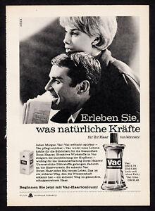 3w02413/Old Advertising 1961-Vac-haartonicum-Olivine - Cosmetics