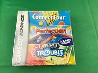 Connect Four/perfection/trouble (nintendo Game Boy Advance, 2005)